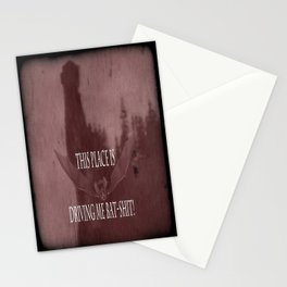 "'Orlock, the Killer Vampire-Bat'- from "" Nosferatu vs. Father Pipecock & Sister Funk (2014) Stationery Cards"