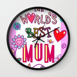Best Mum Wall Clock