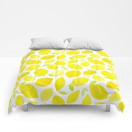 Beautiful Lemon Pattern Comforters