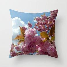 Reach to the sky Throw Pillow