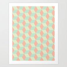 Patterns on Patterns Art Print