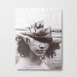 The boat Tas Metal Print