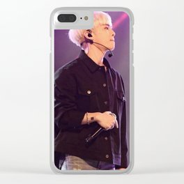 rip jonghyung Clear iPhone Case
