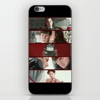 scandal iPhone & iPod Skins featuring A Scandal in Belgravia by Alessia Pelonzi