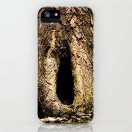 Hole in a Tree iPhone Case