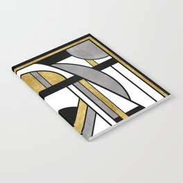 Up and Away - Art Deco Spaceman Notebook