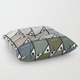 50 Shades Of Pantone Grey Floor Pillow