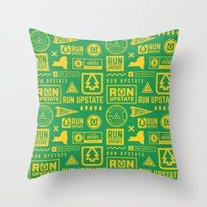 Run Upstate Throw Pillow