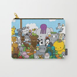 Zoe animals Carry-All Pouch