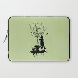She Spins The Stars Laptop Sleeve