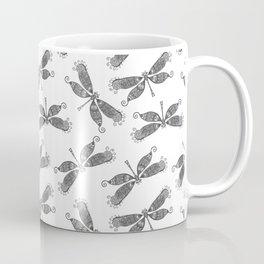 Beautifull Dragonfly Black/White Coffee Mug