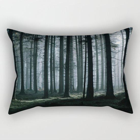 Mystery forest Rectangular Pillow