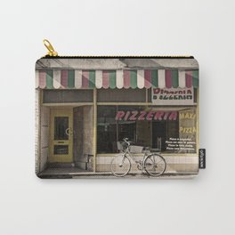 Image of facade of old pizzeria Carry-All Pouch