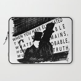 Eliminate the Impossible Laptop Sleeve