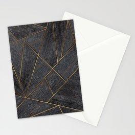 Nordic Yakisugi Square Stationery Cards