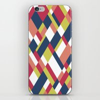 matisse iPhone & iPod Skins featuring Map Matisse by Project M