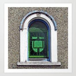 Bible in the Window Art Print