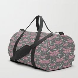 dragonflies with grey pattern 3 Duffle Bag
