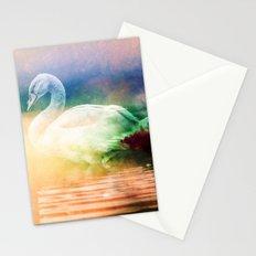 Nature Animals - Wild Swan Lake Stationery Cards