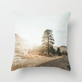 Grand Staircase Escalante Throw Pillow