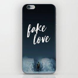 BTS - Fake love iPhone Skin