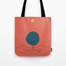 Dhyana mudra Tote Bag