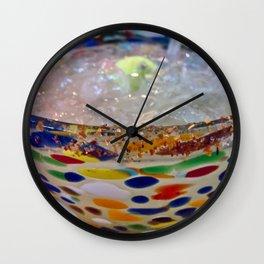 Festive Libation Wall Clock