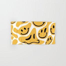 TRIPPY MELTING SMILE PATTERN Hand & Bath Towel