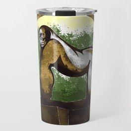 Gorilla Travel Mug