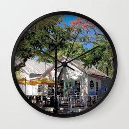 Corner Café Wall Clock