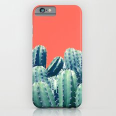 Cactus on Coral #society6 #decor #buyart iPhone 6s Slim Case