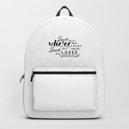 Look | Hamilton Backpack