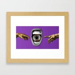 The Divine Divide Framed Art Print