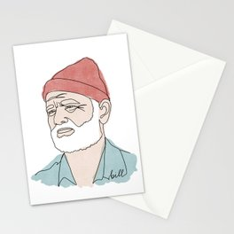 Bill Murray Line Drawing Stationery Cards