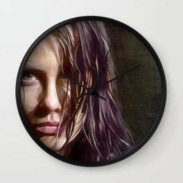 Maggie Rhee - The Walking Dead Wall Clock
