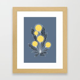 Dandelion by Olga Yurlova Framed Art Print