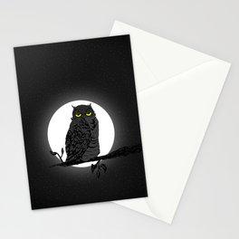 Night Owl V. 2 Stationery Cards