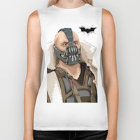 bane Biker Tanks featuring Bane by Thomas Moore