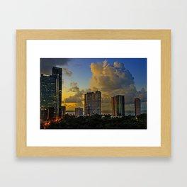 Good Moring Miami Framed Art Print