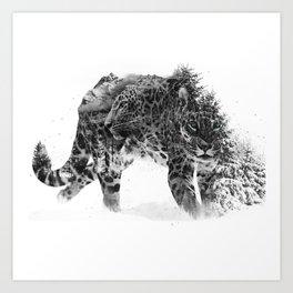 Leopard V1 Art Print