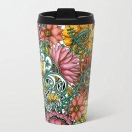 Flower explosion Travel Mug