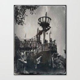 Tarzan Treehouse by Topher Adam 2017 Canvas Print