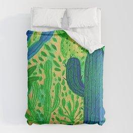 Cactus Garden 03 Comforters