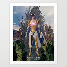 Ascend  from  Ruin Art Print