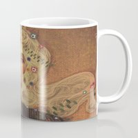 gustav klimt Mugs featuring klimt by Galvanise The Dog