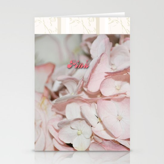 Pink eDition Stationery Cards