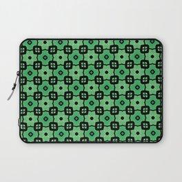 Tiled green Laptop Sleeve