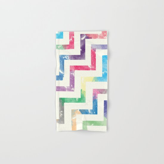 Colorful Geometric VI Hand & Bath Towel