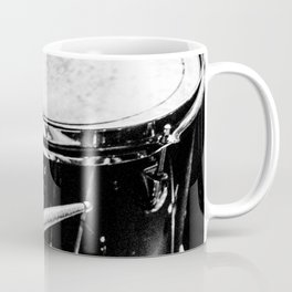 drums music aesthetic close up elegant mood art photography  Coffee Mug