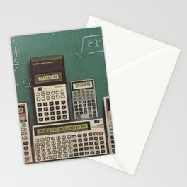 Casio Calculators...the good old days. Stationery Cards